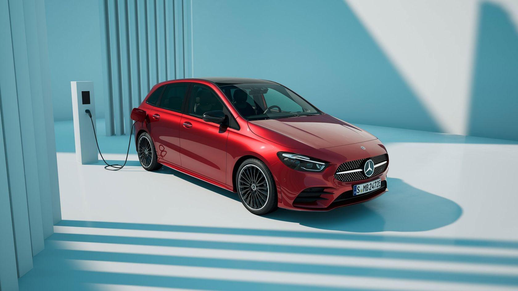 Nell'immagine, Mercedes-Benz GLA