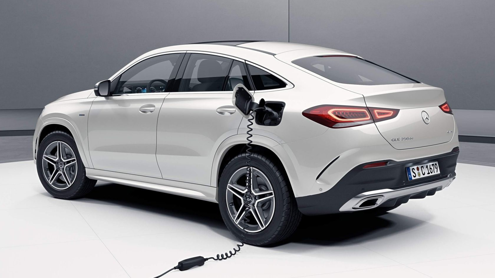 Nell'immagine, Mercedes-Benz GLE Coupe