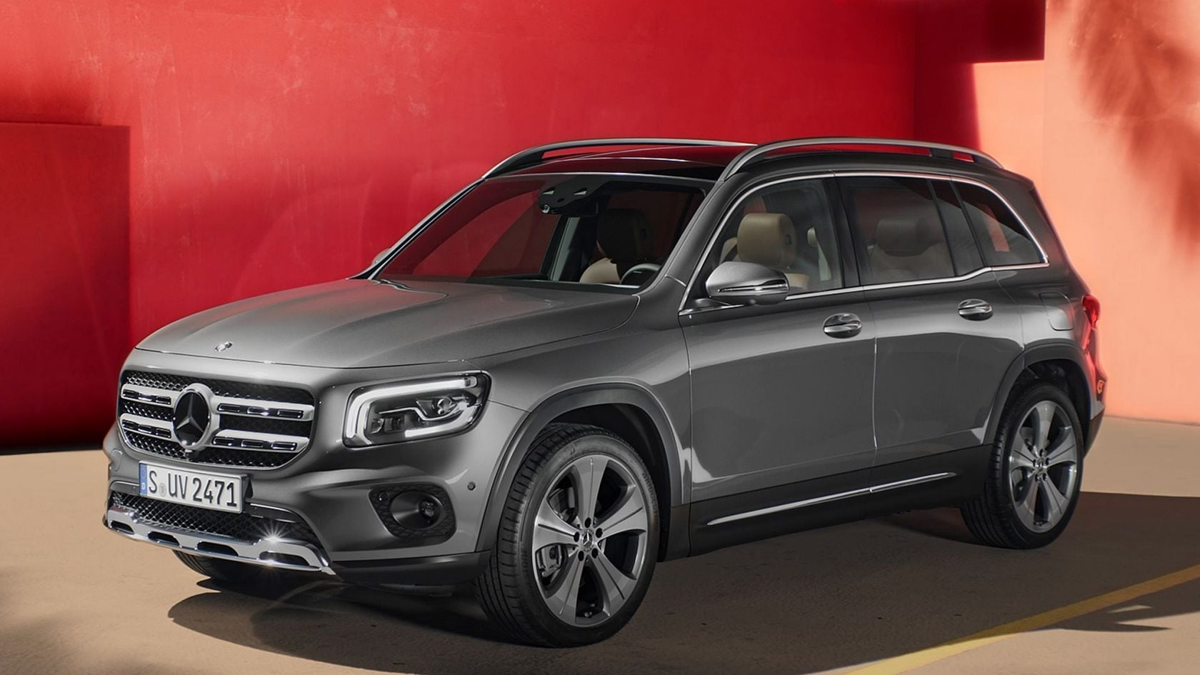 Mercedes-Benz GLB: design