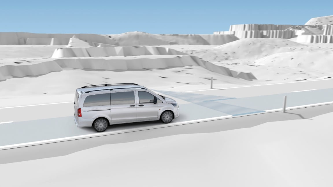 Vito Tourer, sistema antisbandamento